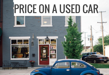 HOW TO GET THE BEST PRICE ON A USED CAR