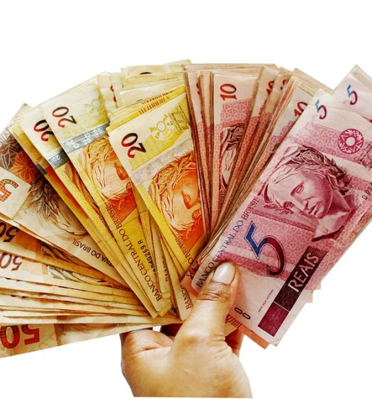 Money Brazilian Currency Note Brazil Ballots Real