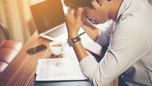 Fewer people taking sick days at work