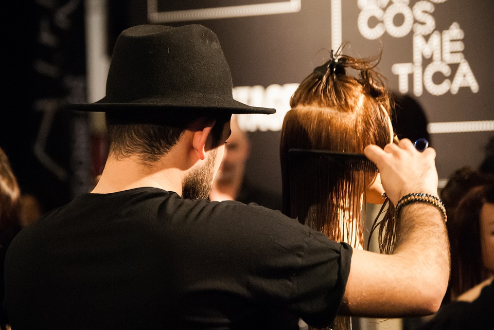 Expocosmética Model Presentation Man Hairdresser